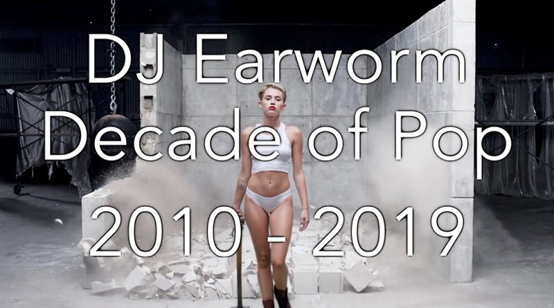 DJ Earworm esta editando el video: Década del pop 2010 - 2019 😲