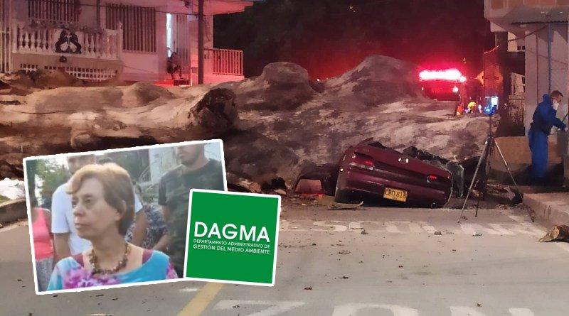 Así respondió el DAGMA a la tragedia ocurrida en Comfenalco