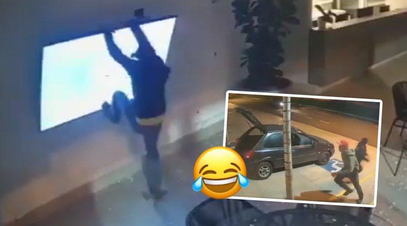 Estos ladrones son lo que llamamos un divertida comedia