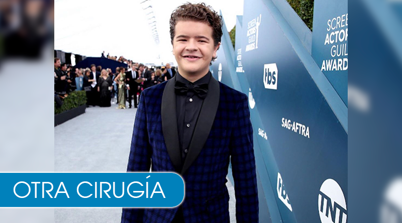 Dustin de Stranger Things se somete a su 4 cirugía por su displasia