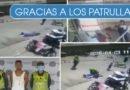 Salían de robar un supermercado y justo iban pasando los Policías – Cali