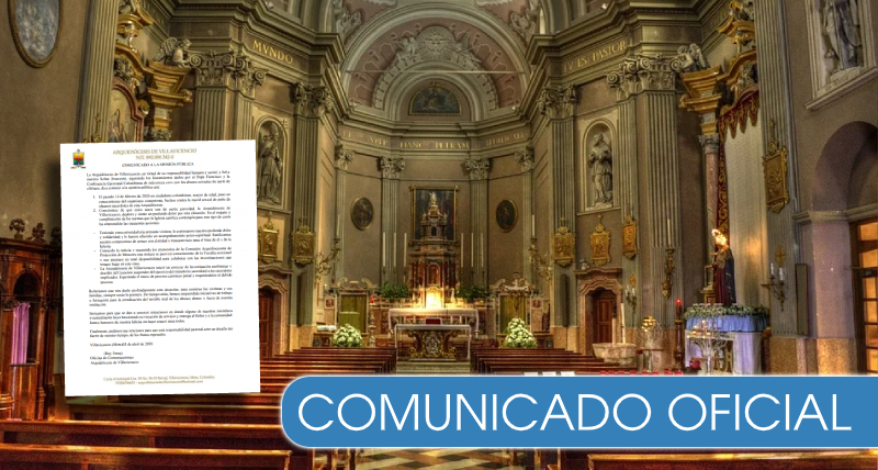 Más de 10 sacerdotes suspendidos en Colombia por abuso sexual