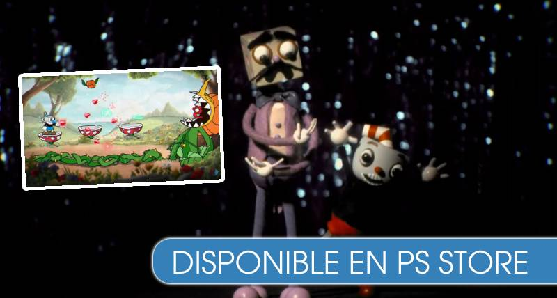 Cuphead ya está disponible para PS4
