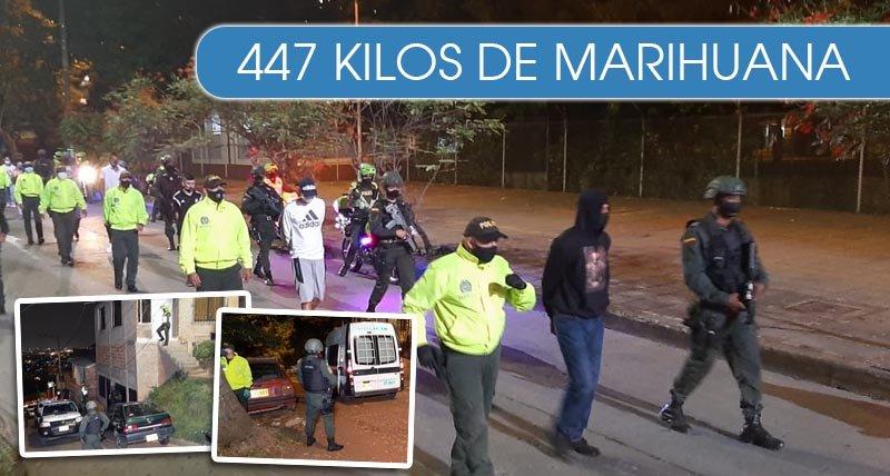 Policía captura más de 20 delincuentes de la banda 'Los Rivereños'