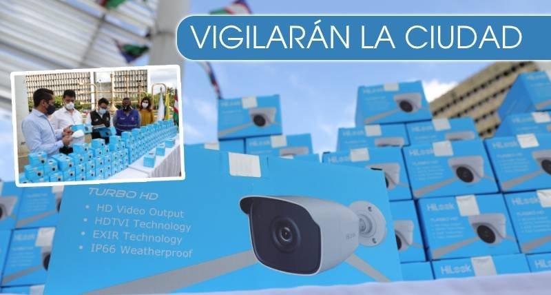 300 cámaras llegan a Cali para ayudar con la seguridad de la ciudad