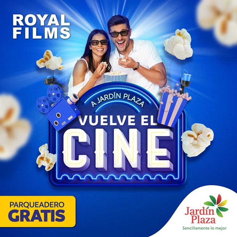 Excelente noticia, el cine regresa a Jardín Plaza de la mano de Royal Films2