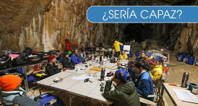 Así fue el experimento de 40 días en una cueva, sin teléfono ni relojes