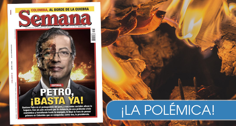Con portada en Semana, acusan a Petro de promover el odio en el país